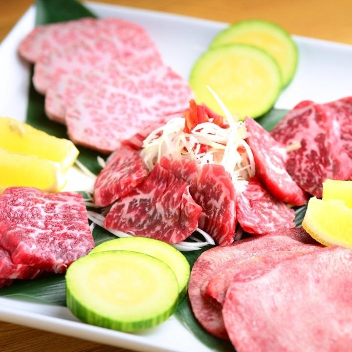 美味的木炭烤肉♪