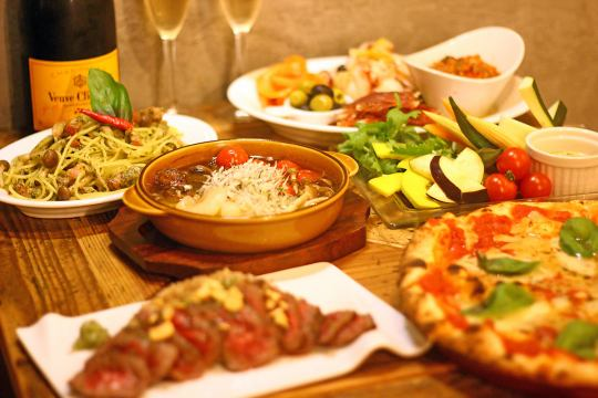 New Year's party ★ Matsuzaka pork course ★ 2h red watermelon 100 kinds of wine buffet & other drinks
