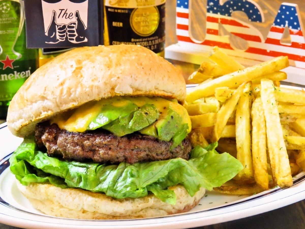 安博芝士漢堡