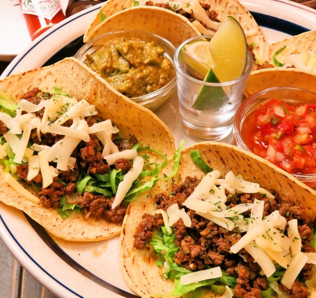 牛肉炸玉米餅/ soutacos /魚炸玉米餅/雞炸玉米餅