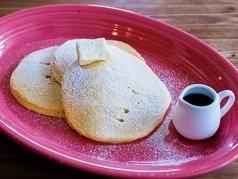 美國煎餅基本(黃油,楓糖漿)