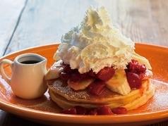 美国煎饼(香蕉/草莓/鞭子)