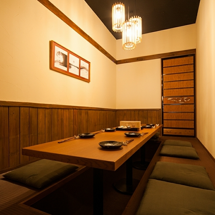 A private room is also available! Please tell us when you make a reservation