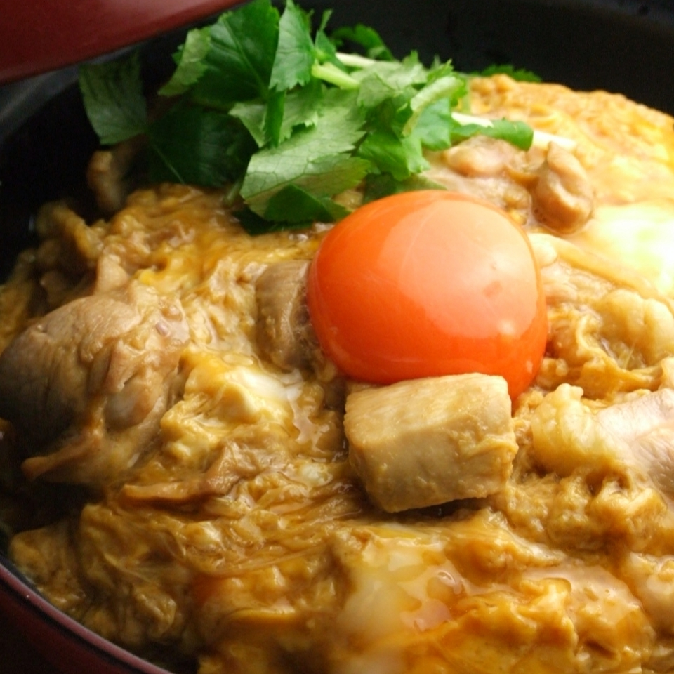 Famous items Oyakodon