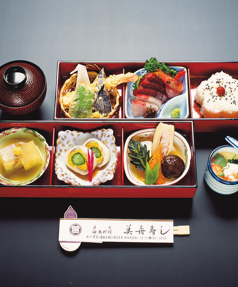 Hana style lunch box