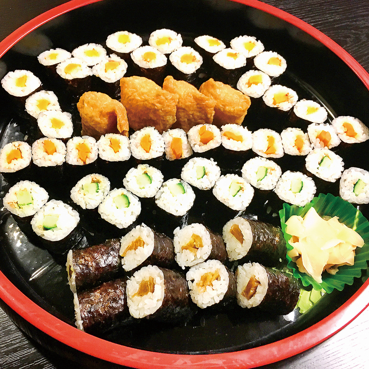 Assistant sushi platter (4 to 5 people)