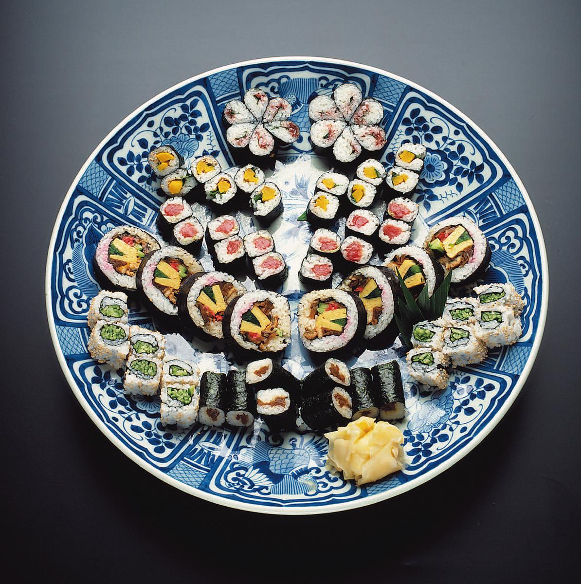 Edo seaweed roll roll (4 to 5 people)
