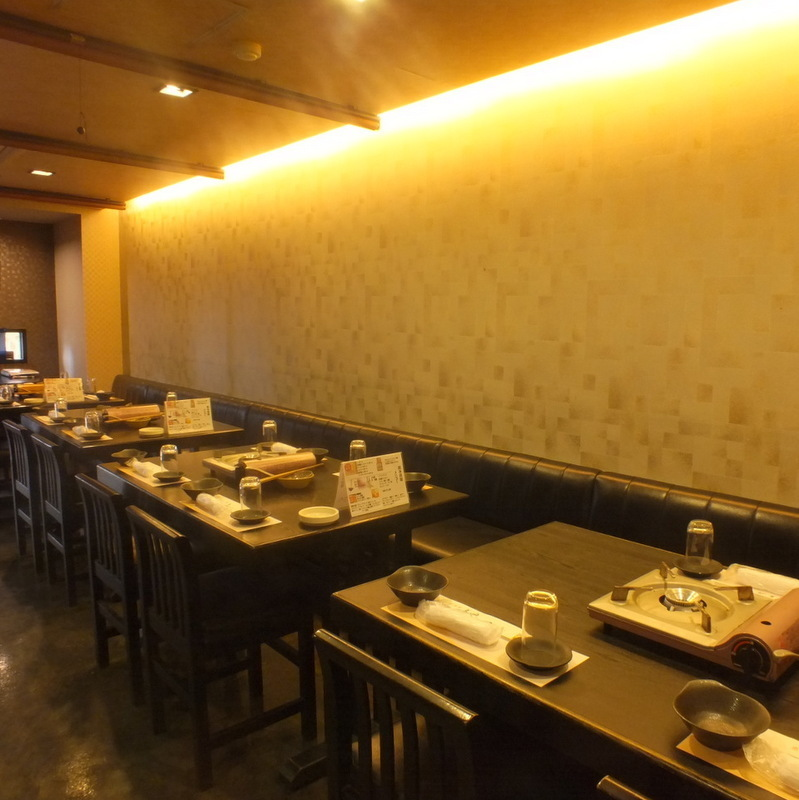 【Half private room for 2 to 20 people】 Guidance for 20 people side by side