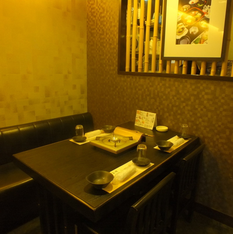 【Half room with 2 to 20 people】 It is a seat that can sit comfortably.