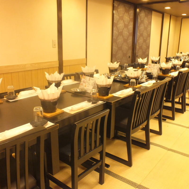 【Banquet room】 You can show up to 60 people.Please leave the big party.