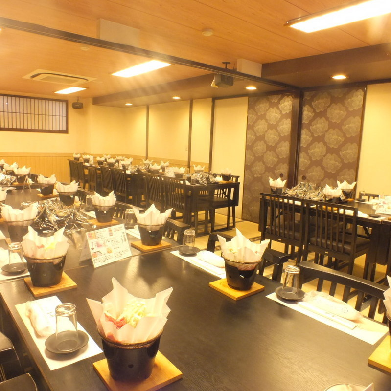 【Banquet private room】 Karaoke is available for free for over 35 people + over 5000 yen course.Those who wish need to tell us.Please contact us for consultation on the number of people and budget.