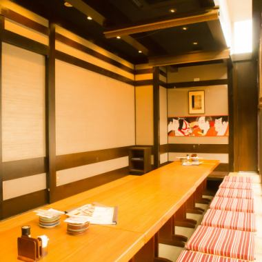 There are 16 rooms available for 2 to 30 guests in all 16 rooms. We have many other rooms that are tailored to the number of people! We can accommodate up to 30 guests in a private room.Ideal for banquets with company, friends ♪
