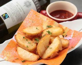 薯条 - 自制番茄酱 -