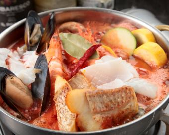 【Food only】 ◎ ★ Specialty Bouya base course ★ 6 dishes 3,980