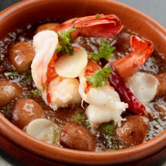 【All-you-can-drink for 2 hours】 ★ Crush prawns course 7 dishes 5, 480 → 4, 980