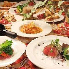 極【EUNP最高級コース】7皿10品料理7,700(税込)