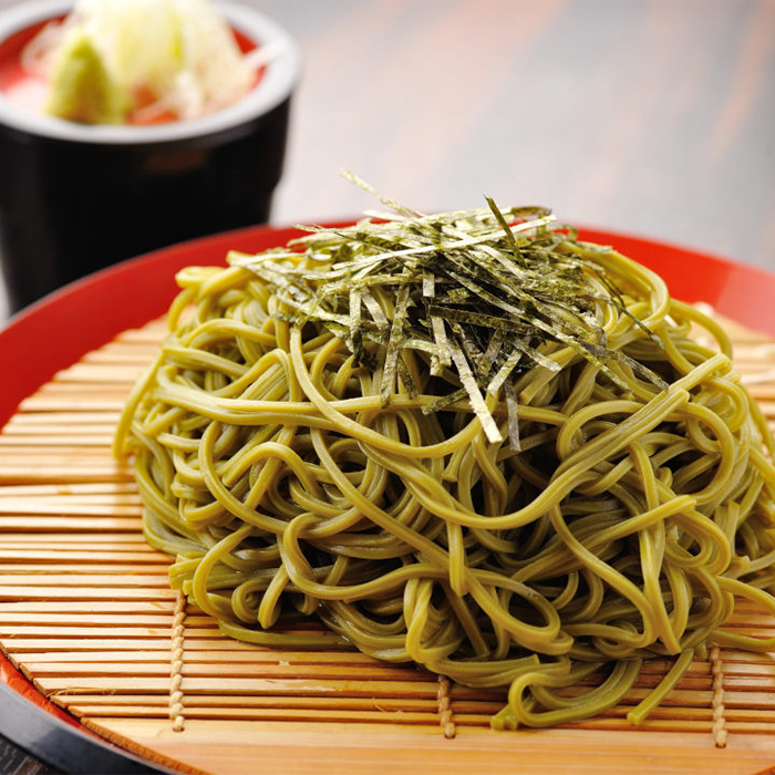 Deep cold tea soba