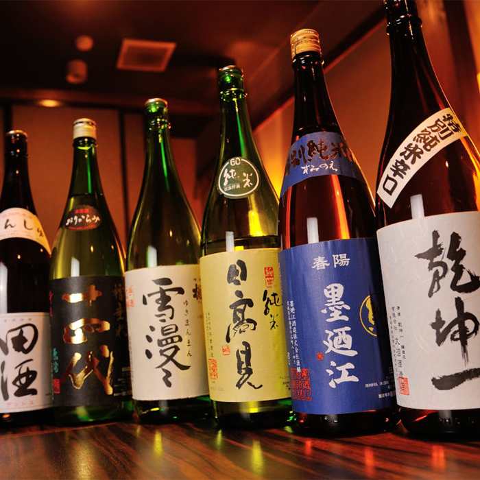 Local sake from all over Tohoku is ready!