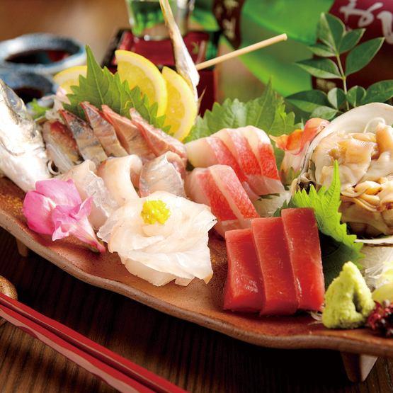 【Freshness preeminent】 Assorted sashimi