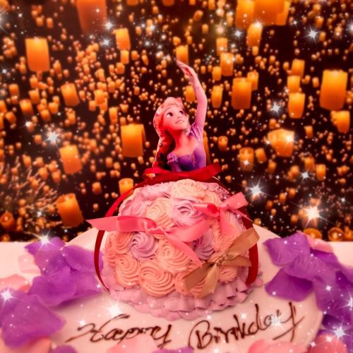 【Reservation on the day OK】 Birthday party course 3240 yen ★ Realize ideal birthday surprise ★