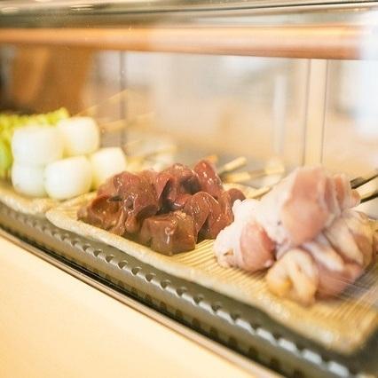 おまかせコース8本(肉5種類、野菜3種類)