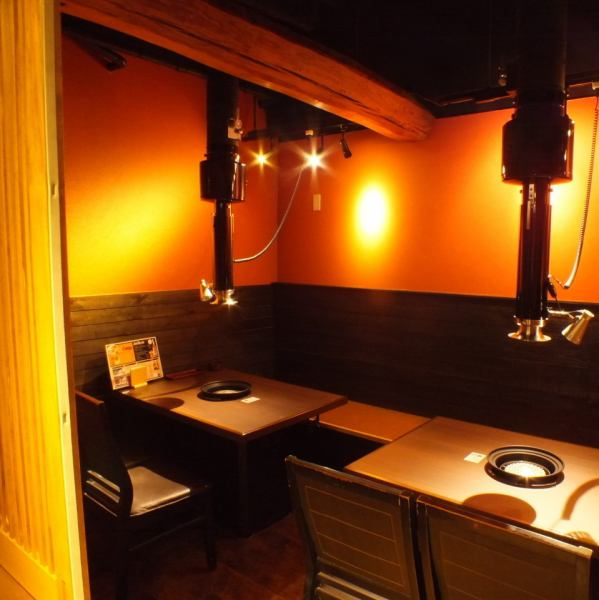 【Completely Private Room is Enriched ★】 Maximum of 12 people OK! Because it is a complete private room, you can enjoy the company meal, friends group, family with young children without having to worry about yakiniku.