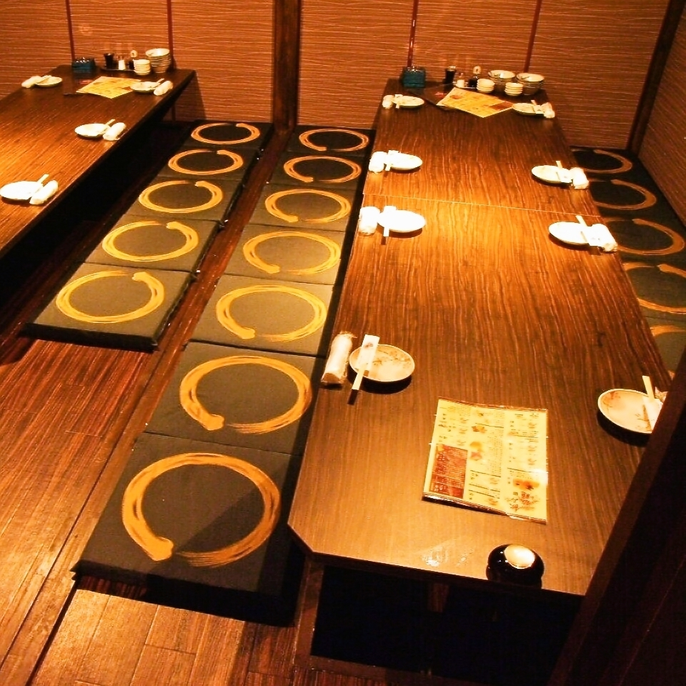 Complete private room for 15 people ★