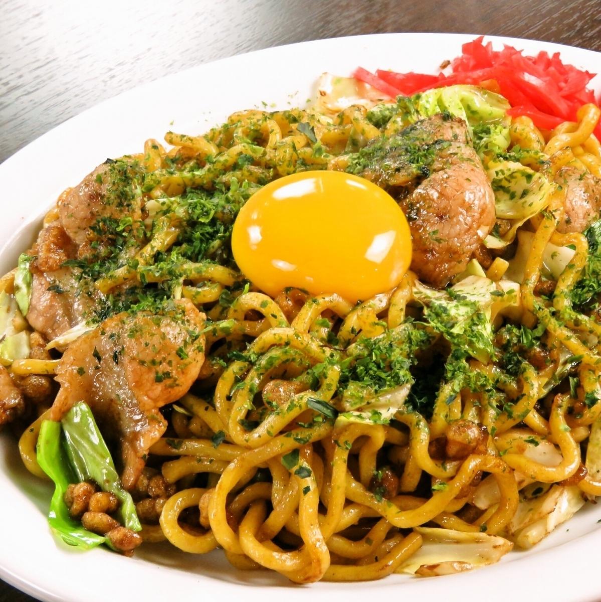 Special taste made yakisoba authentic Sachiko taste