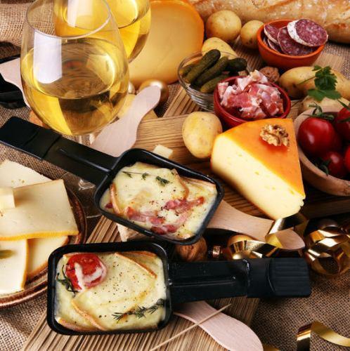 【大人気】とろ~りラクレットチーズ×温野菜プレート♪