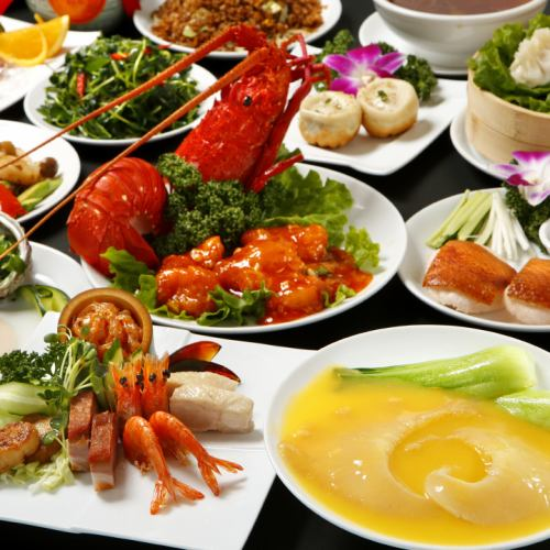 【Course】 Chinese Nanadate Course All 12 items 7350 yen,