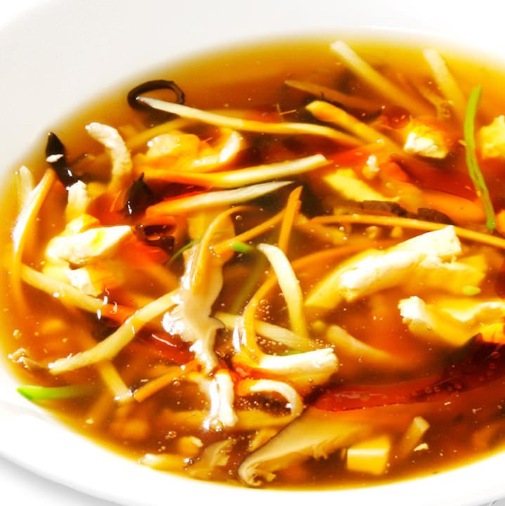 Black vinegar sunlight (soup)