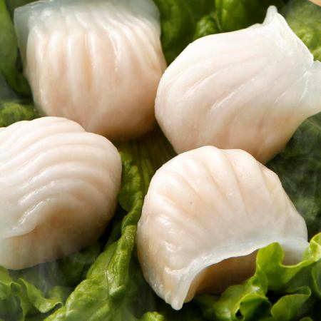 3虾蒸饺子