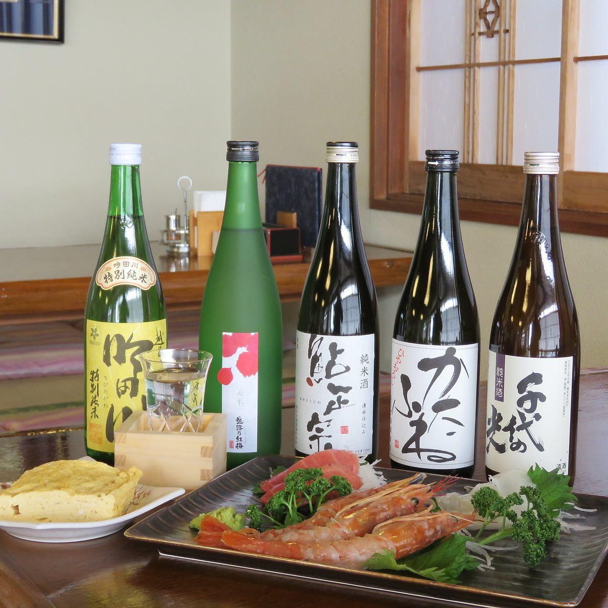 히가시 마츠야마의 전통 국 수집.맛있는 소바와 일본 술, 일품도 즐길 수 있습니다.