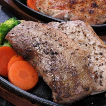 【All-you-can-drink for two hours】: All 10 items 3500 yen course (pork loin and calbi assortment)】