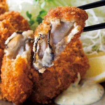 特製タルタルソース 牡蠣フライ