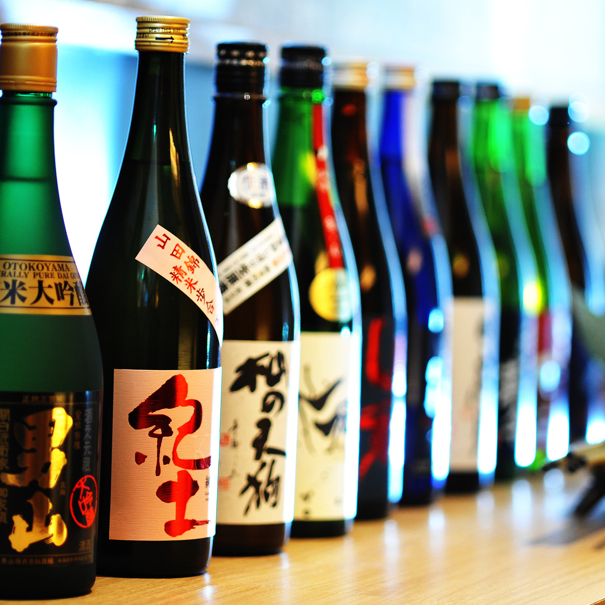 30 delicious sake brought by the four seasons throughout the country and grace