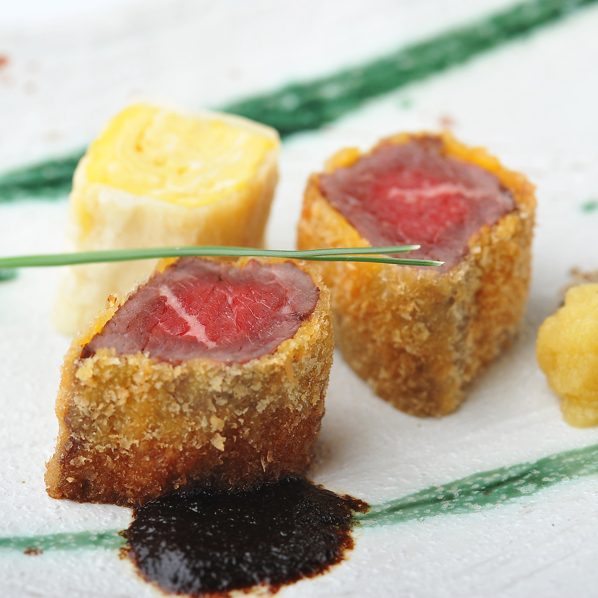 "炒酱""Wagyu fillet cutlet"""