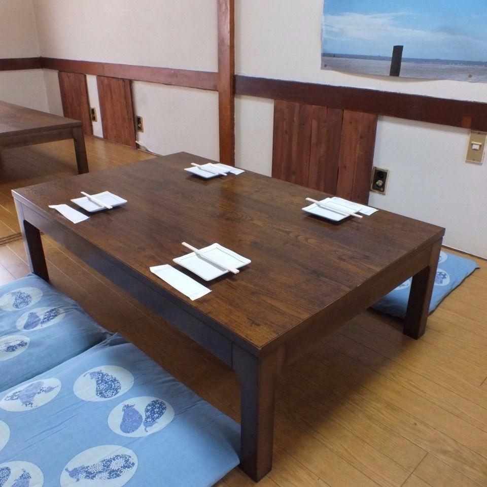 【4 people table × 4】 【6 people table × 1】