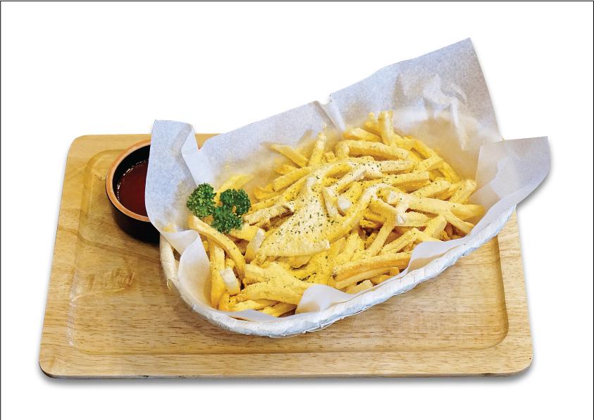 딥 치즈 감자 튀김