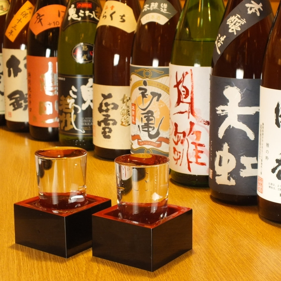 Banquet with local sake and local specialties ◎