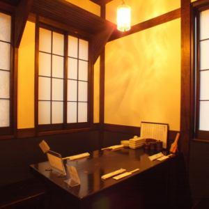 可容纳4人的座位。[横滨/居酒屋/无限畅饮/宴会/妇女协会/日期/欢迎宴会/欢送会/宪章/ 3小时/私人房间]