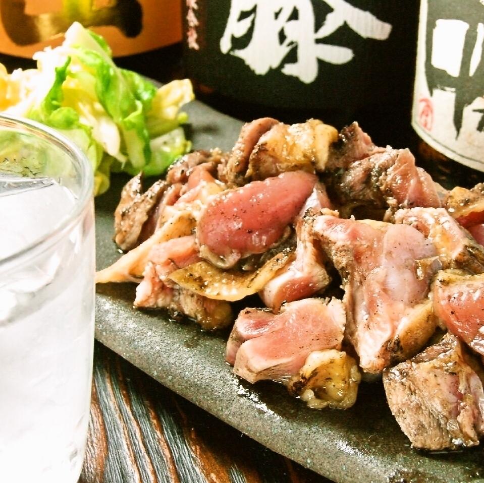 씹으면 씹을수록 맛이 나고! 엄선한 닭고기에 입맛.