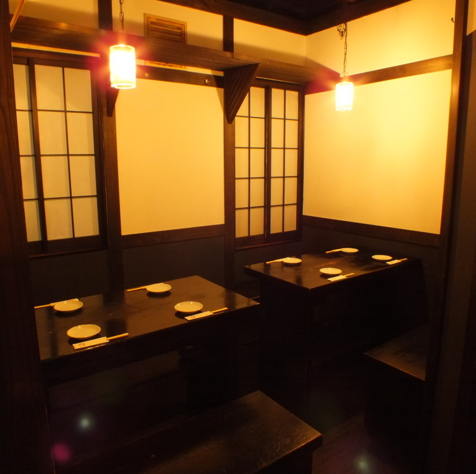 For 8 people.A semi-private room type seat at the back of the second floor.It is a seat recommended for small group drinking party.【Yokohama / Iruku / All-you-can-drink / party / girls party / date / welcome party / farewell party / year-end party / charter / 3 hours / private room】