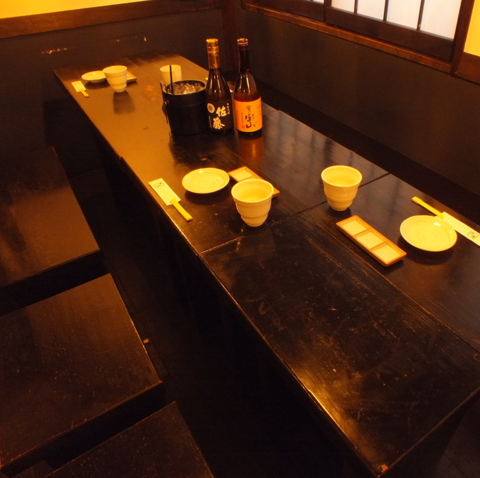Seating on the window side.You can also use it by connecting.【Yokohama / Iruku / All-you-can-drink / party / girls party / date / welcome party / farewell party / year-end party / charter / 3 hours / private room】