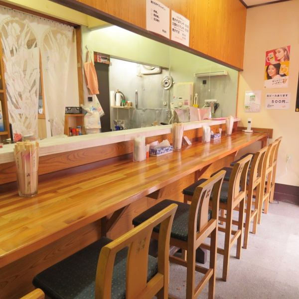 At the counter, one can feel free to drink lunch at night or drink at night.A nice little girl will welcome you with a smile ♪