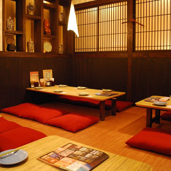 Not only the Osami seats but also the digging seats are fully equipped! Prepared tables such as table semi-private rooms, Zushiki private room etc. Various banquets such as farewell reception party, any scenes ◎