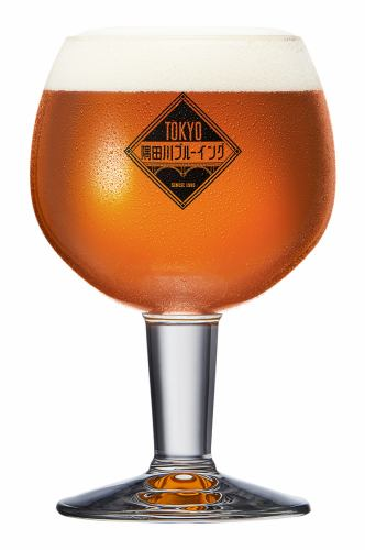 TOKYO隅田川ブルーイングのクラフトビール