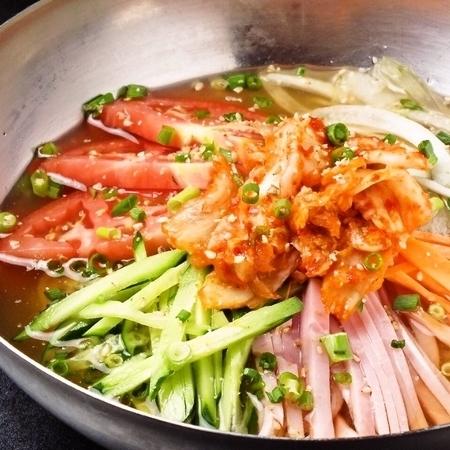 Korean style cold noodles