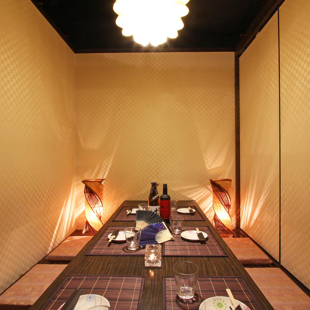 這是一個6人的私人房間