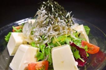 Shuru豆腐藍色果凍調味沙拉